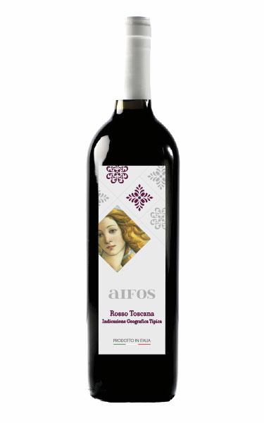 AIFOS Toscana rosso - Bottiglia 750 ml